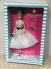 2016 Monte Carlo Brasil Charm Silkstone Classic Cocktail Dress Barbie doll NRFB