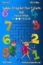 Sudoku Irrégulier Pour Enfants: Sudoku Irrégulier Pour Enfants 8x8 - Facile à...