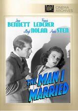 The Man I Married 1940 (DVD) Joan Bennett, Francis Lederer, Lloyd Nolan - New!