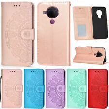 For Nokia 5.4 3.4 2.4 5.3 3.2 4.2 6.2 7.2 Mandala Wallet Leather Flip Cover Case