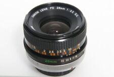 Objectifs grand angle Canon 28 mm pour appareil photo et caméscope