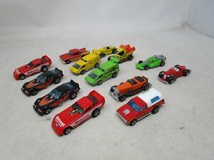 Vintage Lot of 13 Hot Wheels BLACKWALL ERA VEHICLES ('57 CHEVY, FUNNY CARS, MORE