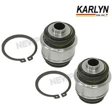 For BMW E38 E60 Pair Set of Rear Left & Right Ball Joints w/ Snap Rings KARLYN