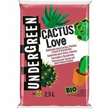 Undergreen, 2,5 Cactus Love, Terriccio Ideale per tutte le Cactacee altre Piante