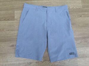Saltrock Mens Amphibian Hybrid Shorts Size Medium Grey (649)