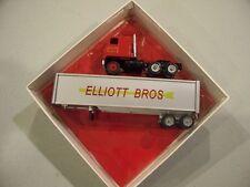 ELLIOTT BROS TRUCKING CUSTOM TRACTOR TRAILER DIECAST EASTON MD WINROSS TRUCK