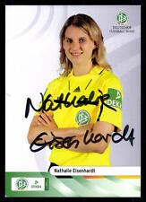 Nathalie Eisenhardt Autogrammkarte DFB Schiedsrichter Original Signiert +A32068