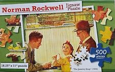 500 PIECE NORMAN ROCKWELL JIGSAW PUZZLES 18.25�€x11�€, SELECT: Picture