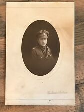 WW1 Cabinet Photograph Royal Field Artillery Soldier RFA British Army Military