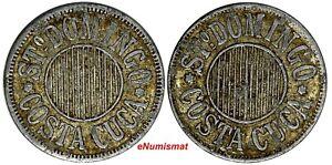 GUATEMALA TOKEN Aluminum Santo Domingo Costa Cuca 20mm Rulau-Gma 319