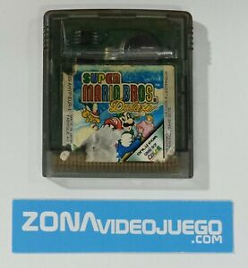 Super Mario Bros. Deluxe, Nintendo Game Boy Color. Pal-Eur