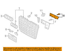 AUDI OEM 15-17 A8 Quattro Grille-Reinforcement Right 4H0853480B