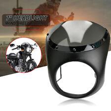Motorrad Scheinwerfer Lenker Verkleidung Windschutzscheibe Für Harley Cafe Racer