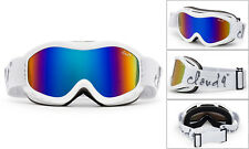 Kids Ski Goggles SnowBoard Youth Dual Lens Anti Fog UV Protection Carry Pouch