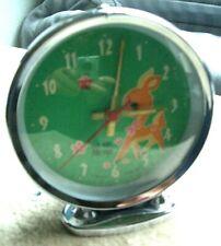 Réveil Hero Bambi made in China Vintage TTBE fonctionne 4 photos