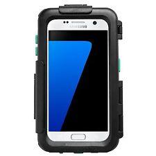 "Motorrad Hardcase wasserdicht Samsung Galaxy S7 mit RAM Mount Kugel 1""Zoll"