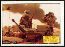 The Desert Rats #132 Desert Storm 1991 Merlin Sticker (C959)