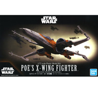 Bandai Star Wars POE'S X-WING FIGHTER (STAR WARS:THE RISE OF SKYWALKER) 1/72