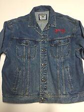 Vintage LEE Men's Denim Jacket - Alabama Logo Sz XL