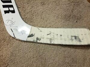 DARCY KUEMPER Signed 12-14-19 Photomatched Arizona Coyotes Game Used Stick NHL
