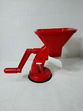 New listing Tomato Press World Super Velox Red Made in Italy