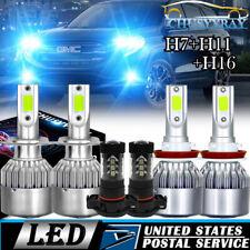 For GMC Acadia 2007 2008 2009 2010 2011 2012 -6X 8000K LED Headlight + Fog Light