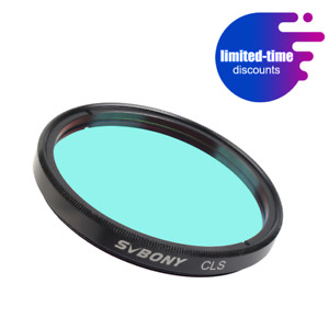 """SVBONY 2"""" CLS Deep Sky Filters for Telescope 2'' Eyepiece Cuts Light Pollution"""