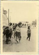 PHOTO ANCIENNE - VINTAGE SNAPSHOT - MAROC BENI MELLAL FOLKLORE RUE - STREET