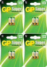 8 x GP® 910A LR1 N 1.5V Super Alkaline Battery MN21, A23, LRV08 Expiry 2022