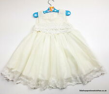 approx 2 year old Girls occasional ivory dress Christening Flower girl
