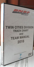 BNSF Twin Cities Division Track Chart DVD 2016