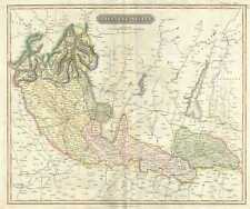 1817 Thomson Map of the Milanese States (Milan, Mantua, Alto Po), Italy