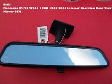 BIN1 Mercedes W124 W201 190D 190E 300E Interior Rearview Rear View Mirror OEM