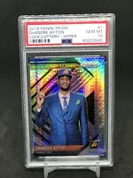 2018-19 Panini Prizm Deandre Ayton Luck Of The Lottery Hyper RC #1 PSA 10 Rookie