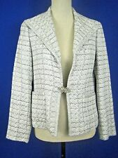 DONCASTER Collection Gray Wool Blend NEW Evening Jacket 4