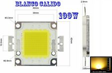Led chip 100w 2800K ~ 3500K blanco calido Warm white 32V 3A ultra potente