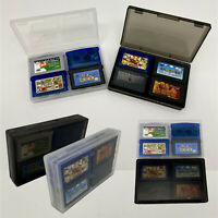 For GameBoy GBA GBASP Game Cartridge Card Storage Case Game Accessories Hard Box