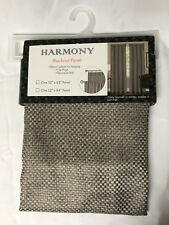 """Achim Harmony Blackout Panel 52"""" x 63"""" Rod Pocket Grey"""