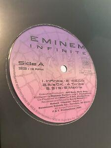 Eminem Infinite Vinyl 2020 Press Rare Slim Shady EP