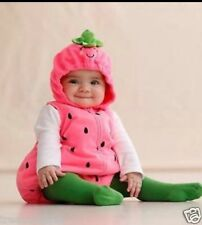 Baby Size 24 Months ** CARTER'S ** Halloween Strawberry Costume NWT Carters