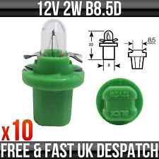 12v 2w b8.5d (verde base) instrumentos & PANEL Bombillas - Ring - r509tgr