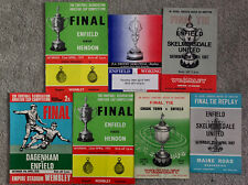More details for 7 x amateur cup finals featuring enfield