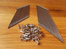 Spokes Zundapp DB201, 202, 204 NORMA Stainless Steel 36 Pieces with Nipples