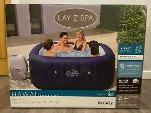 Lay Z Spa Hawaii Square 6 Person Hot Tub - 2021 Model - NEW! ✅