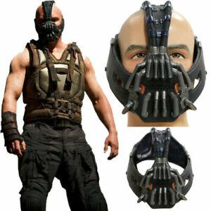 Batman Bane Cosplay Mask Costume Props The Dark Knight Rises Helmet Halloween US