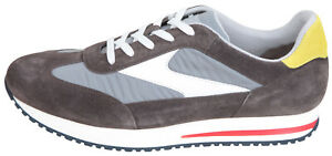 PAUL & SHARK YACHTING Men's Casual Leather Shoes Sneaker Size EUR 43 UK 9 US 10