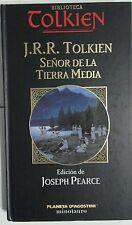 Señor de la Tierra Media. Biblioteca Tolkien. Libro. Como Nuevo.