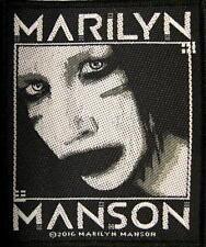 Marilyn Manson Patch/ricamate # 17 Villain