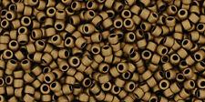 Toho 15/0 Matte Color Dark Copper Round Seed Bead 15-702 8 grams
