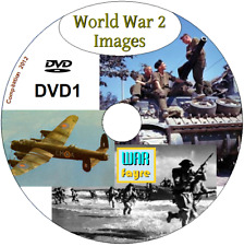 OVER 8100 World War II Photo's & Images on DVD 1 - Hitler D-Day Navy Marines ++